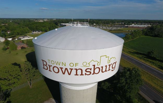 brownsburg water tower